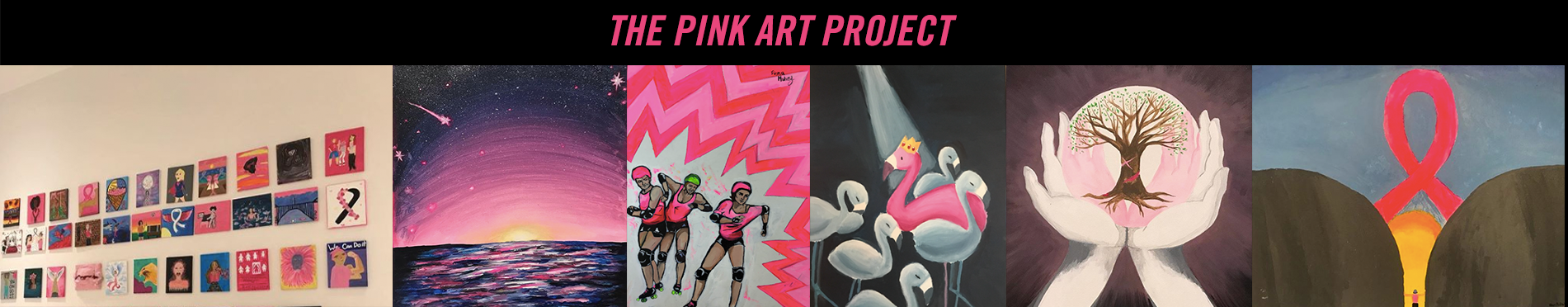 Pink Art Project Banner 3