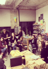 Crit Club, photo provided by Catherine Haggarty