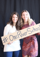 One River Corporate Staff: Katie Enna Hobson and Agnes Zabawa