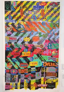 Lenny's Corvette Quest, 2018, Colored pencil and graphite on paper